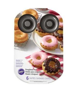 Moule 6 Donuts Wilton