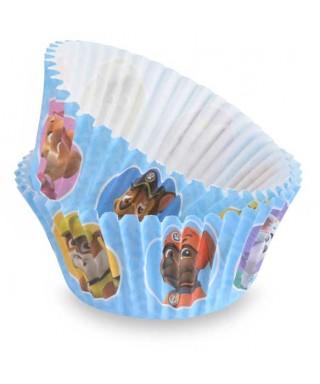 Caissettes à cupcake de Pat' Patrouille