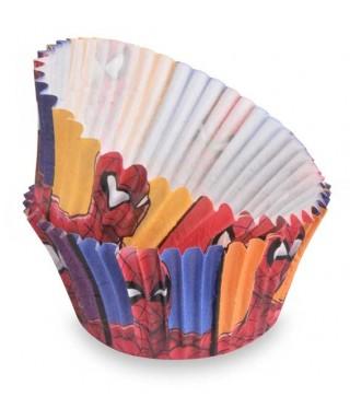 Caissettes à Cupcake Spiderman Marvel