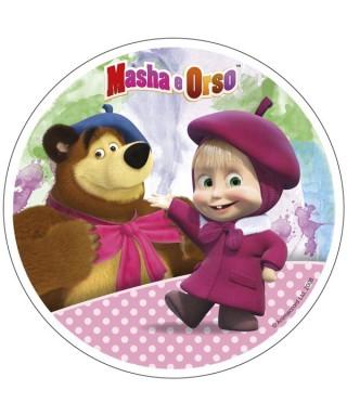 Disque sucre Masha l'ourson