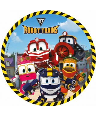 Disque Azyme Kay, Selly, Duck, Alf et victor Robot Trains