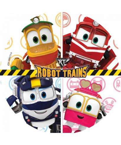 Disque Azyme Kay, Selly, Duck et Alf Robot Trains