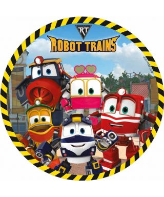 Disque Azyme Kay, Selly, Duck, victor et Alf Robot Trains