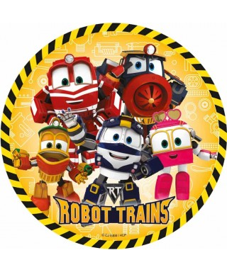 Disque Azyme Selly, Kay, Duck, victor et Alf Robot Trains