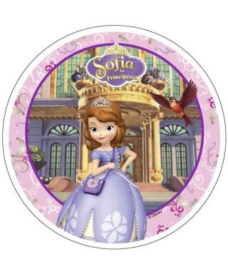 Disque azyme Princesses Sofia Disney