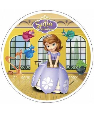 Disque azyme Princesse Sofia et les fées Disney