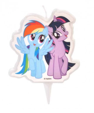 Bougie Twilight Sparkle et Rainbow Dash My Little Pony