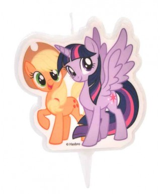 Bougie Twilight Sparkle et Applejack My Little Pony