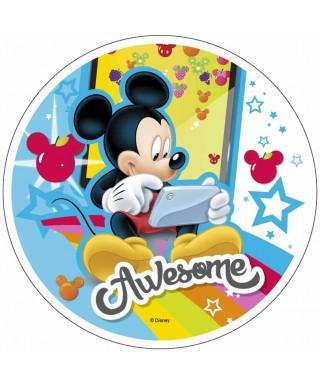 Disque Azyme Mickey sur sa tablette Disney