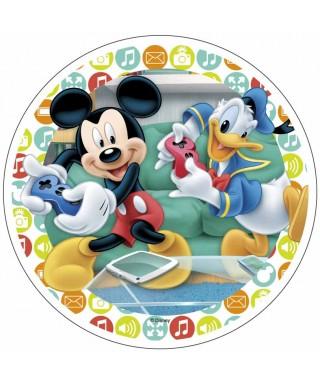 Disque Azyme Mickey et Donald Disney
