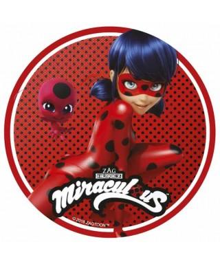 Disque azyme Tikki et Miraculous Ladybug