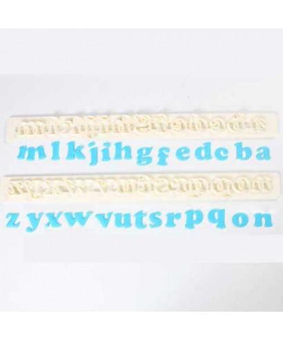 Lettres Art Deco minuscules FMM Sugarcraft
