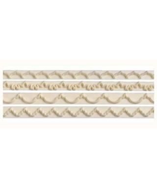 Découpoir de bordure Straight Frill 1 - 4 FMM Sugarcraft