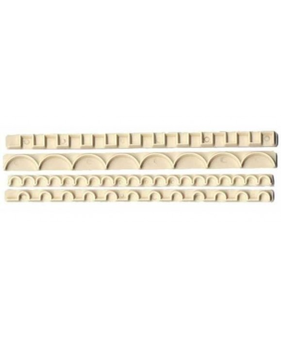 Découpoir de bordure Straight Frill 9 -12 FMM Sugarcraft