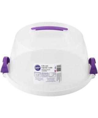 Boîte à gâteau de forme ronde réutilisable Wilton