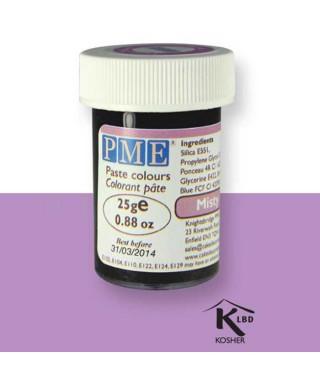Colorant alimentaire en gel Misty Mauve PME
