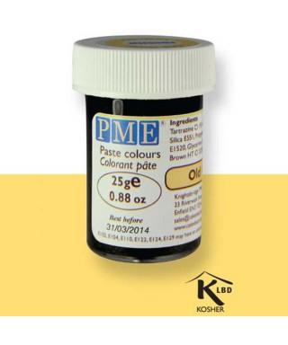 Colorant alimentaire en gel vieil Or PME
