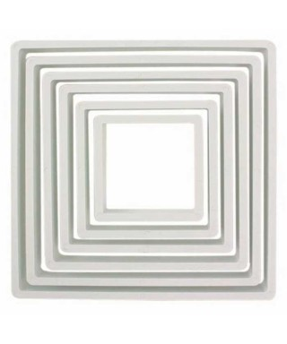 Emporte-pièces carrés set/6 PME