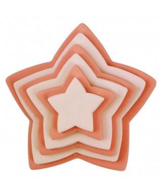 Emporte-pièces étoile set/6 PME