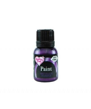 Peinture métallique Violet 25ml Rainbow Dust