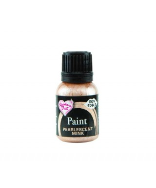 Peinture métallique Vison Nacré 25ml Rainbow Dust