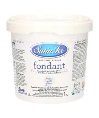Satin Ice Pâte à sucre Vanille Blanche 1 kg