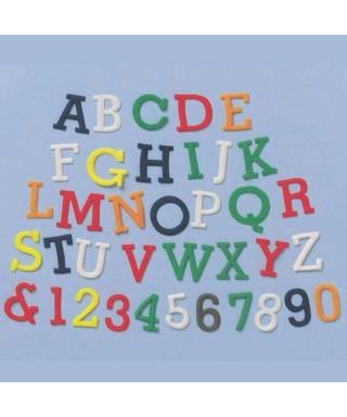 Lettre en Majuscule Chiffre et lettre - FMM Sugarcraft