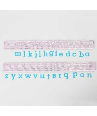 Lettre en Minusucule FMM Sugarcraft