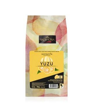 Chocolat INSPIRATION YUZU Sac fèves 3kg valrhona