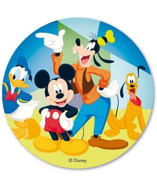Disque Azyme Mickey et ses amis Disney
