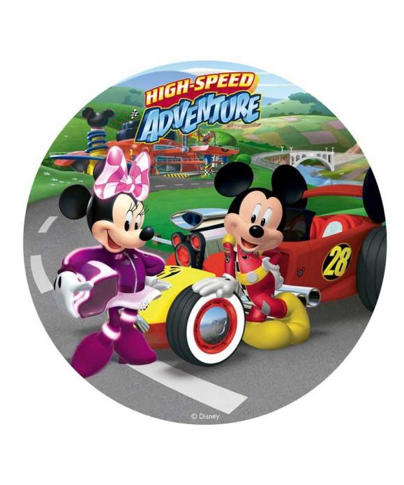 Disque Mickey et Minnie Top départ Disney
