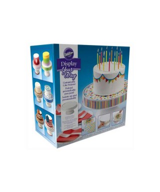 Présentoir à gâteau personnalisable Wilton