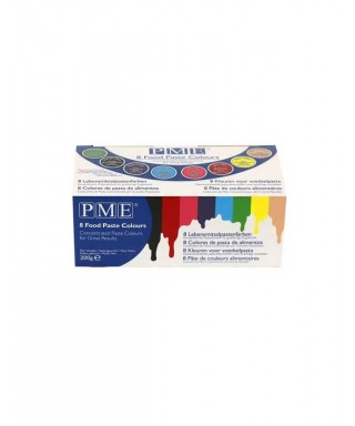 Assortiment colorants alimentaire gel PME