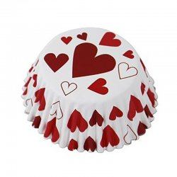 Caissette cupcake Coeur