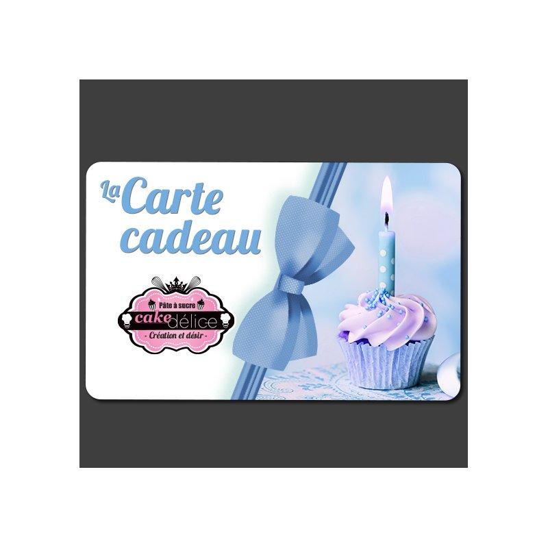 Carte cadeau 20€ Cake Delice