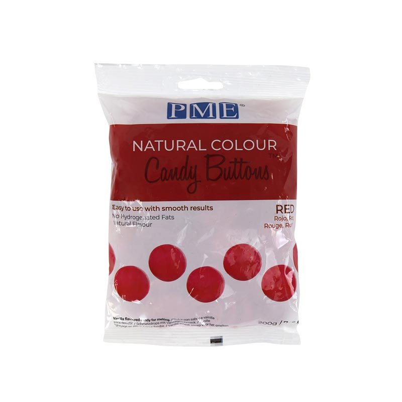 Candy Buttons Couleur naturel 200 gr PME