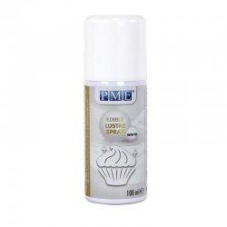 Bombe spray lustrant Blanc 100 ml PME