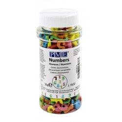 Sprinkles chiffre 55gr PME