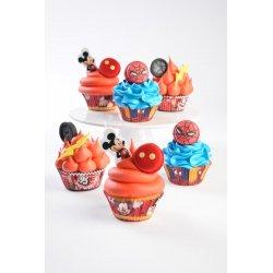 Caissettes à Cupcake de Mickey Disney deco