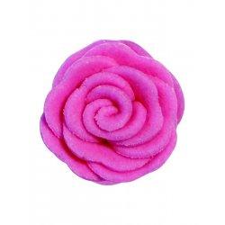 Petites roses en sucre rose PME