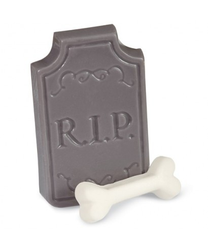 Moule Candy Mold Pierre tombale Halloween Wilton
