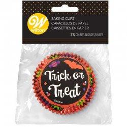 Caissettes à Cupcakes Trick or Treat set/75 Wilton