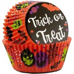 Caissettes à Cupcakes Trick or Treat Wilton