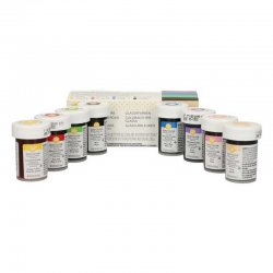 Coffret de 8 colorants gels Wilton