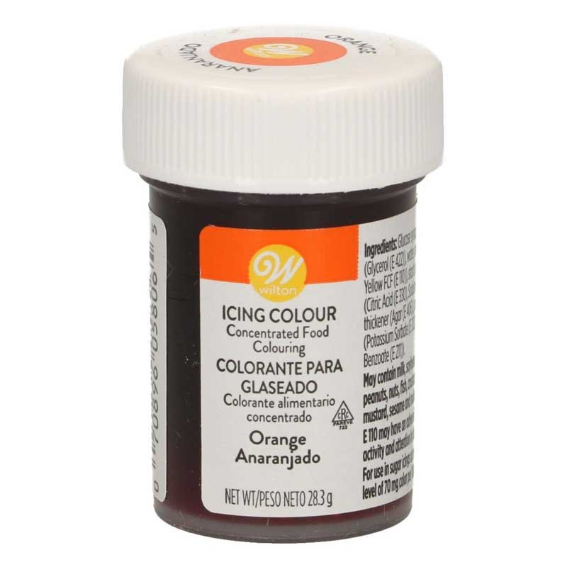 Colorant alimentaire en gel orange Wilton