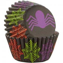Mini Caissettes Halloween Araignée  Wilton