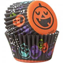 Mini Caissettes Halloween Citrouille Wilton