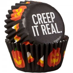 Mini Caissettes Halloween Creep it Real pk/100 Wilton