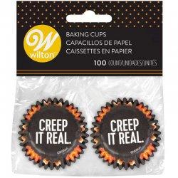 Mini Caissettes Halloween Creep it Real pk/100 Wilton