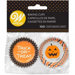 Mini Caissettes Halloween Wilton